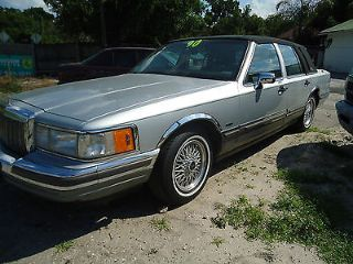 Used 1990 Lincoln Town Car Signature In Winter Park Florida