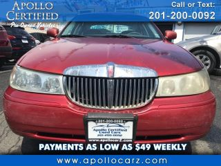 Used 1998 Lincoln Town Car Signature in Jersey City, New Jersey