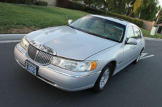 Lincoln Town Car Cartier 1998