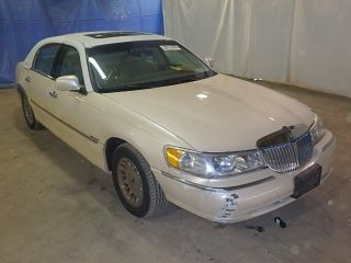 Lincoln Town Car Cartier 1998