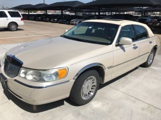 Used 2000 Lincoln Town Car Cartier In Edmond Oklahoma