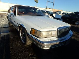 Used 1990 Lincoln Town Car Signature In Phoenix Arizona