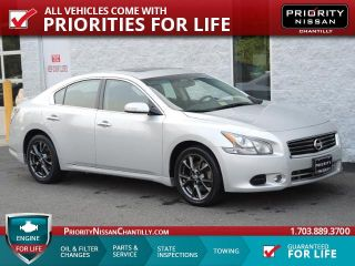 Used 2012 Nissan Maxima S in Chantilly, Virginia