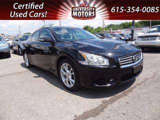 Used 2012 Nissan Maxima S in Nashville, Tennessee