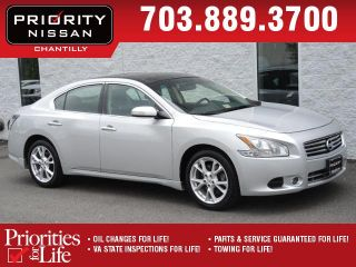 Used 2012 Nissan Maxima SV in Chantilly, Virginia