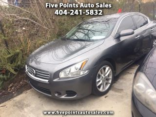 Five Points Auto Sales >> Used 2014 Nissan Maxima S In Decatur Georgia