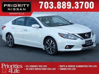 Priority Nissan Chantilly >> Used 2016 Nissan Altima Sr In Chantilly Virginia