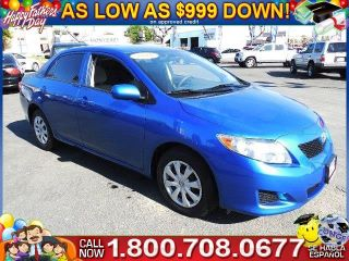Used 2010 Toyota Corolla LE in Santa Ana, California