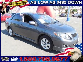 Used 2010 Toyota Corolla S in Santa Ana, California