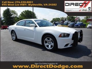 Dodge Charger Police 2013
