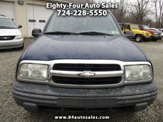 Used 2003 Chevrolet Tracker in Eighty Four, Pennsylvania