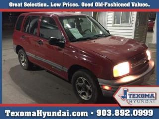 Used 2000 Chevrolet Tracker in Sherman, Texas