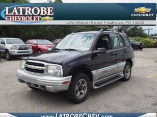 Used 2001 Chevrolet Tracker LT in Latrobe, Pennsylvania