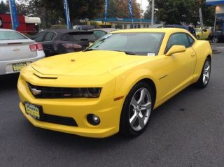 Used 2012 Chevrolet Camaro SS in Seattle, Washington