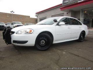 Chevrolet Impala Police 2014