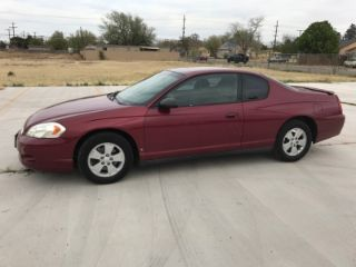 Used 2006 Chevrolet Monte Carlo LT in Lubbock, Texas
