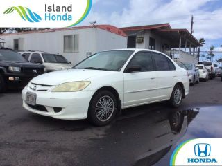 Used 2004 Honda Civic LX in Kahului, Hawaii