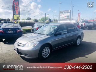 Used 2004 Honda Civic LX in Yuba City, California