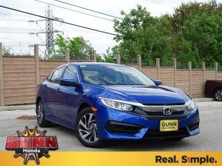 New 2018 Honda Civic EX in San Antonio, Texas