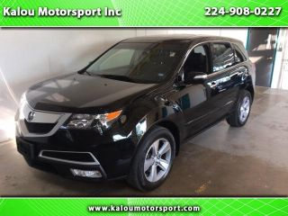 Acura MDX Technology 2012