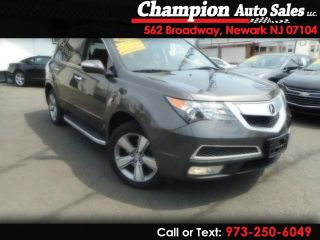 Used 2012 Acura MDX Technology in Newark, New Jersey