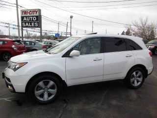 2011 Acura MDX Technology