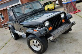 Jeep Wrangler S 1990