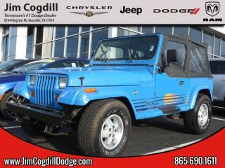 Used 1990 Jeep Wrangler Islander In Knoxville Tennessee