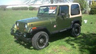 Jeep Wrangler Sahara 1990