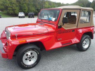 Jeep Wrangler Renegade >> Used 1992 Jeep Wrangler Renegade In Wilkesboro North Carolina
