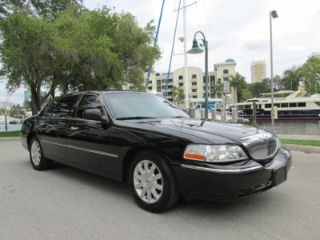 Used 2011 Lincoln Town Car Signature L In Fort Lauderdale Florida