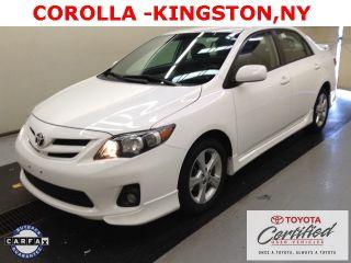 Used 2013 Toyota Corolla S in Kingston, New York