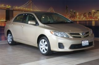 Toyota Corolla L 2012