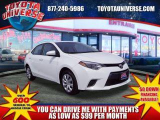 Toyota Corolla L 2015
