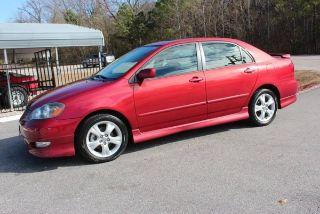 2005 Toyota Corolla Xrs >> Used 2005 Toyota Corolla Xrs In Raleigh North Carolina