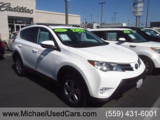 Used 2015 Toyota RAV4 XLE in Fresno, California