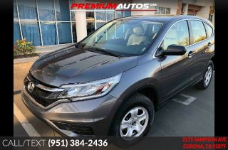 Used 2016 Honda CR-V LX in Corona, California