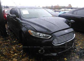 Ford Fusion Titanium 2013