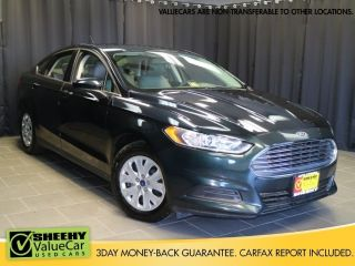 Ford Fusion S 2014