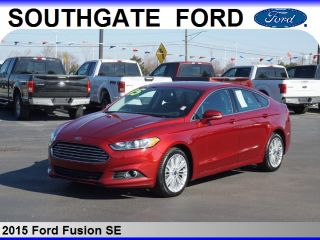 Used 2015 Ford Fusion Se In Southgate Michigan