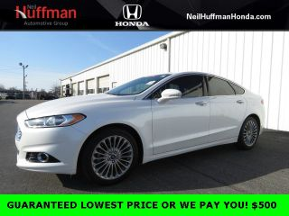 Used 2016 Ford Fusion Titanium in Clarksville, Indiana