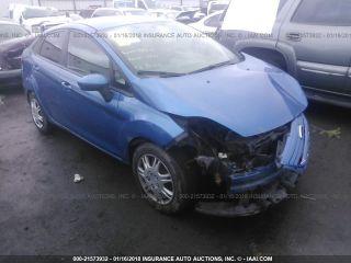 Ford Fiesta S 2011