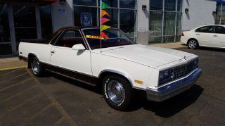 1987 Chevrolet El Camino SS