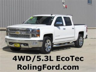 Used 2014 Chevrolet Silverado 1500 LTZ in Charles City, Iowa