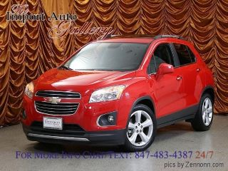 Used 2015 Chevrolet Trax LTZ in Addison, Illinois