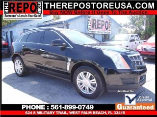 Cadillac SRX Luxury 2010