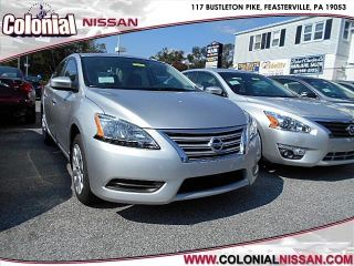 Used 2015 Nissan Sentra S in Feasterville, Pennsylvania