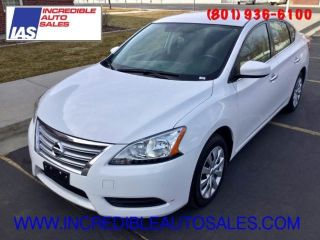 Used 2015 Nissan Sentra S in North Salt Lake, Utah
