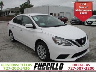 Used 2017 Nissan Sentra S in Clearwater, Florida