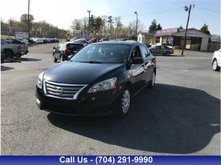Used 2013 Nissan Sentra S in Monroe, North Carolina